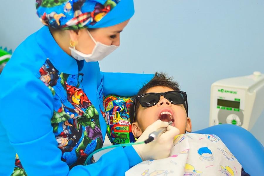 Gyermekek szájápolása